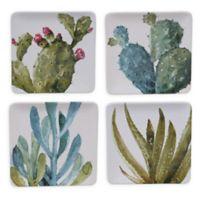 Certified International Cactus Verde Dessert Plates (Set of 4)