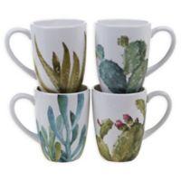 Certified International Cactus Verde Mugs (Set of 4)