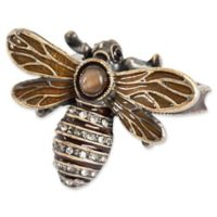 Saro Lifestyle Bumble Bee Napkin Rings (Set of 4)
