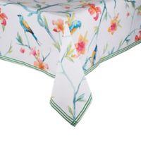 Saro Lifestyle Tahiti Bird 55-Inch Square Tablecloth