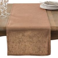 Saro Lifestyle 72-Inch Shimmering Table Runner in Rose