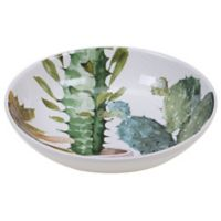 Certified International Mixed Greens Cactus Verde Serving Bowl