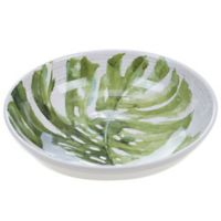 Certified International Mixed Greens Palm Leaves Serving/Pasta Bowl