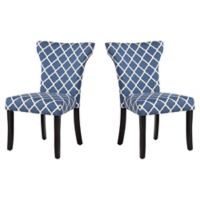 Dwell Home® Polyester Upholstered Monaco Dining Chair in Indigo