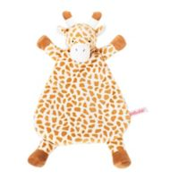 WubbaNub™ Lovie Giraffe Plush Rattle in Brown/Creme