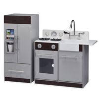 Chelsea Play Kitchen in Grey/Espresso