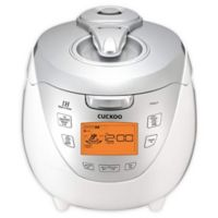 Cuckoo CRP-HR0867F 8-Cup Induction Heating Rice Cooker in Red