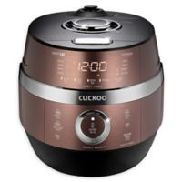 Cuckoo CRP-JHSR0609F 6-Cup Rice Cooker in Brown