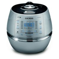 Cuckoo Electronics® 10-Cup Induction Heating Pressure Rice Cooker in Silver