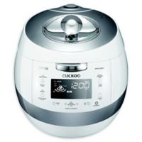 Cuckoo Electronics® Induction Heating 10-Cup Pressure Rice Cooker & Warmer in White