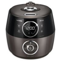 Cuckoo GH1009F 10-Cup Induction Heating Rice Cooker in Dark Grey