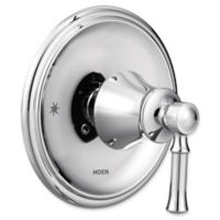 Moen® Dartmoor Posi-Temp® 1-Handle Wall Mount Shower Trim Kit in Chrome