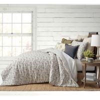 Bee & Willow™ Home Floral Clip Jacquard Full/Queen Comforter Set in Grey