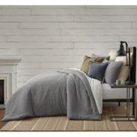 Bee & Willow™ Home Waffle Texture 3-Piece Full/Queen Comforter Set in Grey