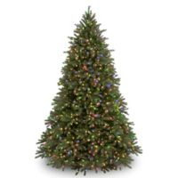 National Tree 7-Foot 6-Inch Feel-Real® Nordic Spruce Pre-Lit Christmas Tree with Clear Lights