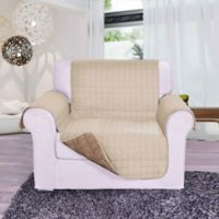 Reversible Chair Furniture Protector in Cream/Taupe