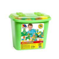 Molto 90-Piece Block Box Set in Green