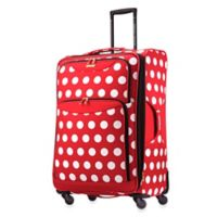 Disney® Minnie Polka Dot 28-Inch Softside 4-Wheel Spinner from American Tourister®