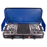 Stansport® Outfitter 212-600-50 3-Burner Propane Gas Outdoor Stove in Blue