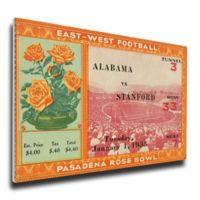NCAA University Of Alabama Sports 14-Inch x 31-Inch Framed Wall Art