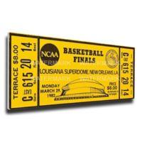 NCAA University Of North Carolina Sports 15-Inch x 29-Inch Framed Wall Art