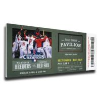 MLB Boston Red Sox Sports 10-Inch x 32-Inch Framed Wall Art
