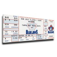 MLB Toronto Blue Jays Sports 10-Inch x 33-Inch Framed Wall Art