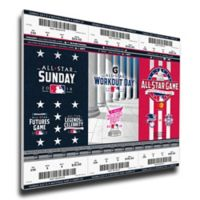 MLB Washington Nationals Sports 13-Inch x 33-Inch Framed Wall Art