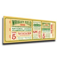 MLB Chicago Cubs Sports 15-Inch x 28-Inch Framed Wall Art