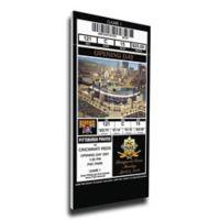 MLB Pittsburgh Pirates Sports 12-Inch x 33-Inch Framed Wall Art