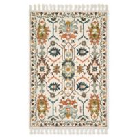 Magnolia Home by Joanna Gaines Kasuri 2'3 x 3'9 Accent Rug in Ivory/Tuscan Clay