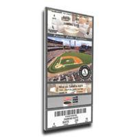 MLB Chicago White Sox Sports 11-Inch x 32-Inch Framed Wall Art