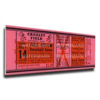 MLB Cincinnati Reds Sports 14-Inch x 33-Inch Framed Wall Art