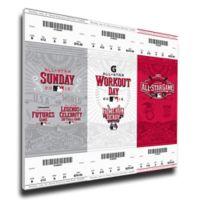 MLB Cincinnati Reds Sports 13-Inch x 33-Inch Framed Wall Art