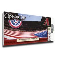 MLB Arizona Diamondbacks Sports 13-Inch x 33-Inch Framed Wall Art