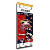 MLB Atlanta Braves Sports 10-Inch x 32-Inch Framed Wall Art