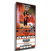 MLB Baltimore Orioles Sports 9-Inch x 35-Inch Framed Wall Art