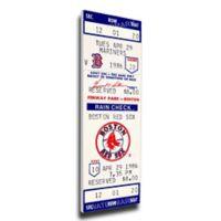 MLB Boston Red Sox Sports 14-Inch x 33-Inch Framed Wall Art