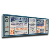 MLB Chicago Cubs Sports 10-Inch x 33-Inch Framed Wall Art