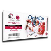 MLB Cincinnati Reds Sports 12-Inch x 33-Inch Framed Wall Art