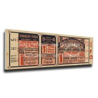 MLB Cincinnati Reds Sports 9-Inch x 34-Inch Framed Wall Art