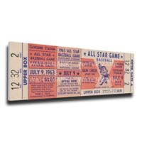 MLB Cleveland Indians Sports 14-Inch x 33-Inch Framed Wall Art