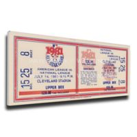 MLB Cleveland Indians Sports 10-Inch x 32-Inch Framed Wall Art