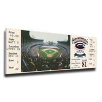 MLB Cleveland Indians Sports 13-Inch x 32-Inch Framed Wall Art