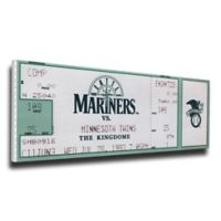 MLB Seattle Mariners Sports 12-Inch x 32-Inch Framed Wall Art