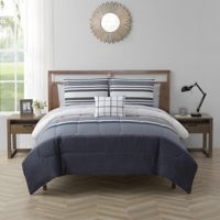 Dylan California King 12-Piece Comforter Set in Grey
