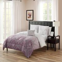 Cambridge King 12-Piece Comforter Set in Berry