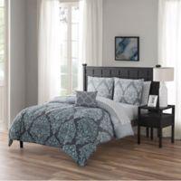 Cambridge Queen 12-Piece Comforter Set in Aqua