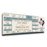 MLB Texas Rangers Sports 12-Inch x 34-Inch Framed Wall Art