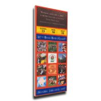 NCAA University Of Washington Sports 15-Inch x 29-Inch Framed Wall Art